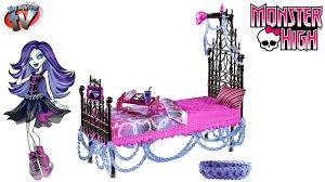 monster high spectra vondergeist floating bed set toy review