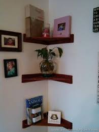 pallet corner shelf plans wooden pallets pallets and shelving