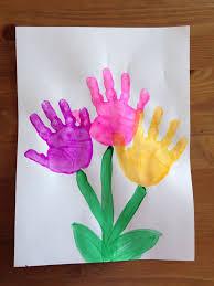 Crafts Kids Spring Craft Handprint Flower Preschool More UhE0k7tr