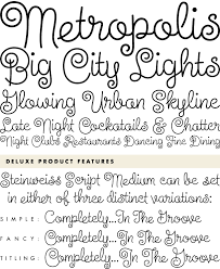 Steinweiss Script Medium Font By Alphabet Soup Bros