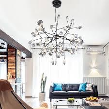 moderne kronleuchter beleuchtung für wohnzimmer nordic mit g4 led len lustre kronleuchter lagerfeuer hängen le glas le leuchten