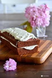 velvet cake mit mascarpone topping