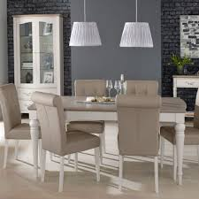Freeport 4-6 Person Grey Washed Oak Extending Table + 6 Faux Leather  Upholstered Dining Chairs Wayfair Black Friday 2018 Best Deals On Living Room Fniture Tag Archived Of Upholstered Parsons Ding Chairs 88 Off Carved Cherry Wood Set With Leather Tables Marvelous Diy Tufted Restoration White Genuine Kitchen Youll Love In 2019 Chair New Upholstery Shop Indonesia Classic Lion With Buy Fnitureclassic Ftureding Natural Lisette Of 2 By World 4x Grey Ding Jovita Faux A Affordable Italian Renaissance 1900 Antique 6