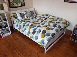 king size bed ikea trysil bed frame with ikea hovag pocket sprung