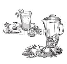 Blender Smoothie Healthy Diet Royalty Free Cliparts Vectors