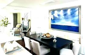 Dining Room Buffet Decor Decorating A Table Modern House
