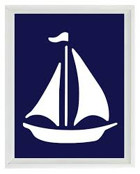 Sailboat Wheel Wall Decor by They Have Dozens Of Other Posters Too Like The Trumpet