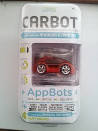 carbots micro rc car controlled by ios or android device gadgets