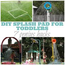 DIY Splash Pad: 7 Genius Hacks   Splash Pad, Yards And Backyard 38 Best Portable Splash Pad Instant Images On Best 25 Backyard Splash Pad Ideas Pinterest Fire Boy Water Design Pads 16 Brilliant Ideas To Create Your Own Diy Waterpark The Pvc Pipe Run Like Kale Unique Kids Yard Games Kids Sports Sports Court Pads For The Home And Rain Deck Layout Backyard 1 Kid Pool 2 Medium Pools Large Spiral 271 Gallery My Residential Park Splashpad Youtube