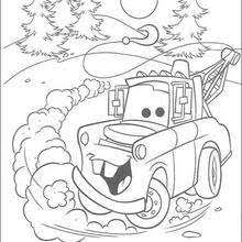 Cars 3 Jackson Storm Coloring Pages
