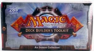 Mtg Revised Starter Deck Contents by Magic The Gathering Deck Builders Toolkit Box 2010 Da Card World