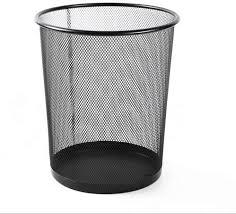 nan mesh mülleimer keine deckung papierkorb metall