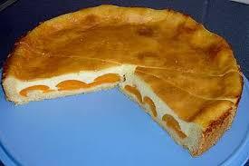 puddingkuchen mit aprikosen