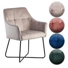 finebuy esszimmerstuhl samt küchenstuhl mit schwarzen beinen schalenstuhl stoff metall design polsterstuhl stuhl esszimmer gepolstert