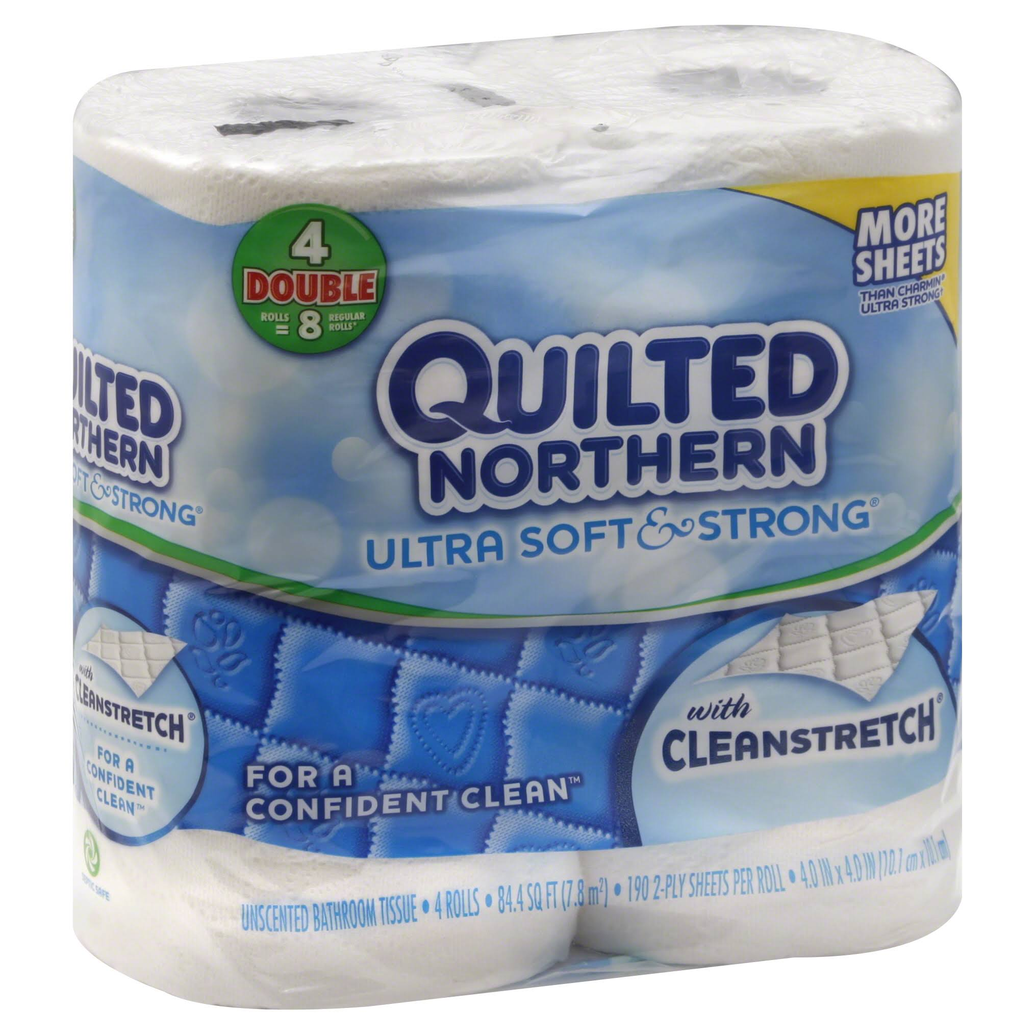 Quilted Northern Soft & Strong Toilet Paper - 4 Rolls