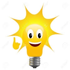 light bulb with sun signifying solar energy royalty free cliparts