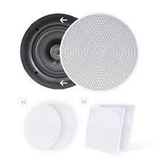 Polk Audio Ceiling Speakers Rc60i by Amazon Com Pyle Ceiling Speakers Stereo Home Theater Speakers