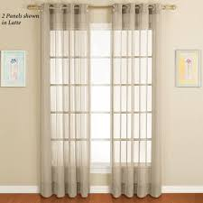 Sheer Curtain Panels With Grommets by Dakota Sheer Grommet Curtain Panels