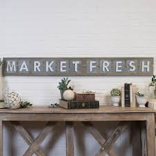 100 Fresh Home And Garden VIP And Market WoodMetal Word Art In