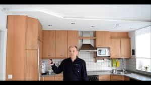 projekt küche renovieren decke umgestalten teil 3
