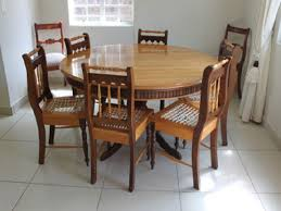 Rustic Round Dining Room Tables For 6 Table Photos 10 On Furniture
