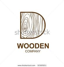 Abstract Letter D Logo Design Template With Wooden TexturehomeLogo DesignVector Illustrationconcept Wood SignsymboliconInteresting For Your