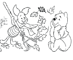 Preschool Fall Leaves Coloring Pages Printable Kids Colouring Kindergarten Free Printables Full Size
