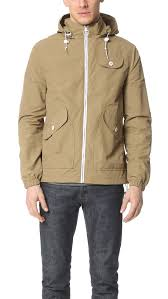 penfield rochester rain jacket in natural for men lyst