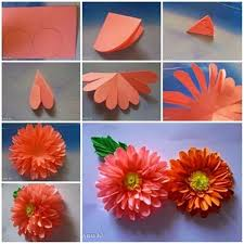 Paper Handicraft Flower Step By How To Make 10 Different Craft Tutorials