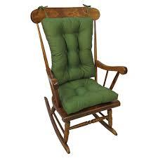 100 The Gripper Twill 2 Pc Rocking Chair Pad Set Jumbo Cushions Walmartcom