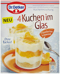 dr oetker kuchen im glas mandarine schmand 5er pack 5 x