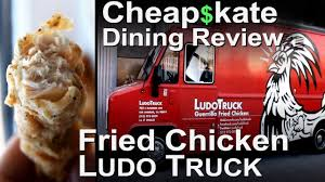 100 Ludo Food Truck Chef Lefebvre Fried Chicken Cheapkate Dining YouTube