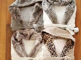 Faux Fur Robe for Women