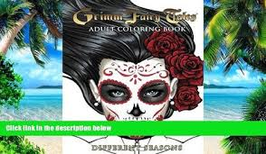 Buy NOW Grimm Fairy Tales Adult Coloring Book Different Seasons Joe Brusha Full