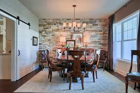 Amazing Dining Room Stone Wall 72 On Home Based Business Ideas With