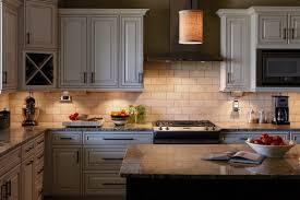 counter kitchen lights