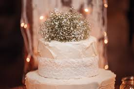 Simple Bunches Of Babys Breath Flowers Were Used As The Wedding And It Tied In Well With Rustic Romantic Theme Decor Was Kept