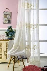 Sheer Cotton Voile Curtains by Sheer Curtains Adeal Info
