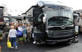 Sleek New Motor Coaches On Display At Tampa RV Show | Tbo.com Sold Refurbished 1999 Manitex 2892s Volvo Wg64 6x6 Carrier Enclosed Trailers Tampa Ft Pierce Bushnell Fayetteville Seabreeze Devil Crabs Seafood Restaurant Florida Celadon Group Inc Indianapolis In Rays Truck Photos Index Of Imagestruckswhitefreightlin01959hauler 7 Reasons Not To Live In 2001 Terex 60100rs Crane For In On Cranenetworkcom Vacations Visit Bay Sleek New Motor Coaches Display At Rv Show Tbocom Fl Monster Jam Greyhound Bus Station Usa Travel Center New Youtube