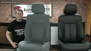100 Ford Truck Replacement Seats 2011 F150 SuperCrew Custom Leather Seat Upholstery Kit