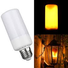 e27 5w led burning light flicker l bulb effect decor