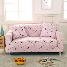 Stretch Slipcovers For Sofa by Online Get Cheap Pink Sofa Slipcover Aliexpress Com Alibaba Group
