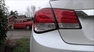 back up light on the chevy cruze