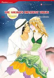 The Sheikhs Impatient Virgin Harlequin Comics