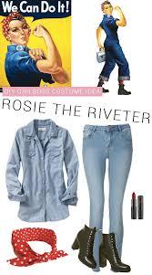 Rosie The Riveter Halloween Diy by 10 Power Halloween Costumes A Joyful Riot