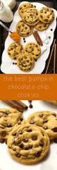 Libbys Pumpkin Orange Cookies by Non Cakey Pumpkin Spice Chocolate Chip Cookies Recipe Pumpkin