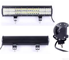 22 5 inch 144w led light bar truck cree led work light 48x3w