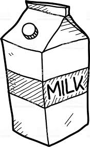 Milk Carton clipart illustration 2