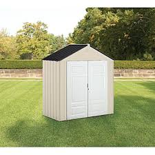 6 X 6 Rubbermaid Storage Shed by Rubbermaid 1821749 Outdoor Resin Storage Shed 7 U0027 X 3 U00276