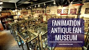 Belt Driven Ceiling Fan Motor by Fanimation U0027s Antique Ceiling Fan Museum Youtube